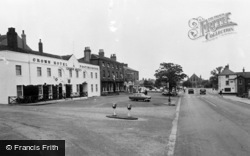 Bawtry, The Crown Hotel c.1960