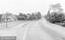 Bawtry, The Doncaster Road c.1955