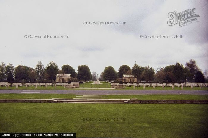Photo of Bayeux, British War Memorial And Cemetery 1984