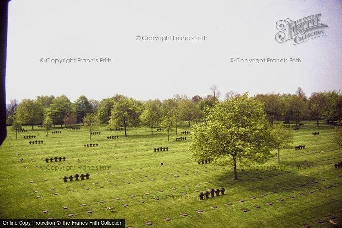 Photo of Bayeux, La Cambe German War Cemetery 1984