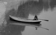 Beachley, Boy In Rowing Boat 1925