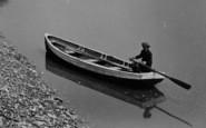 Beachley, Boy Rowing 1925