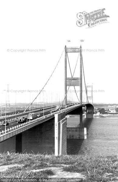 Beachley, The Severn Bridge c.1966
