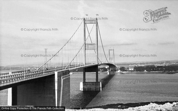 Photo of Beachley, The Severn Bridge c.1966