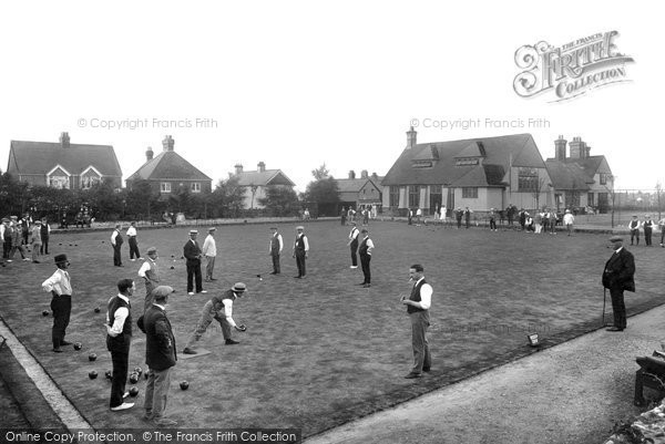 Hindhead, Beacon Hill Bowling Club 1921