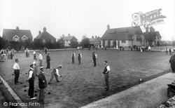Beacon Hill, Beacon Hill Bowling Club 1921