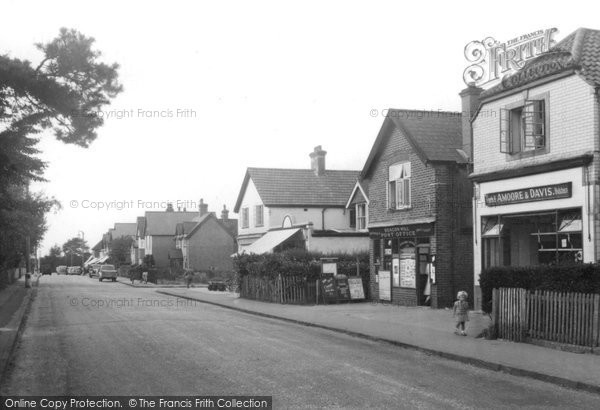 Beacon Hill, Beacon Hill Road c1955