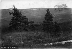 Beacon Hill, Devil's Punch Bowl From Beacon Hotel 1907