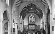Beacon Hill, St Alban's Church Interior 1928