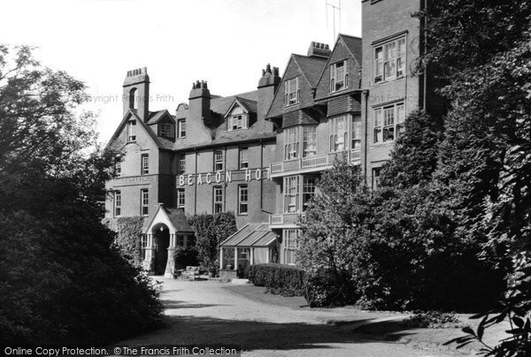 Beacon Hill, the Beacon Hotel c1955