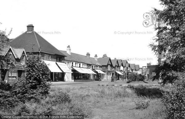 Beacon Hill, the Village c1955