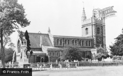 Beaconsfield, St Mary's And All Saints Church c.1955
