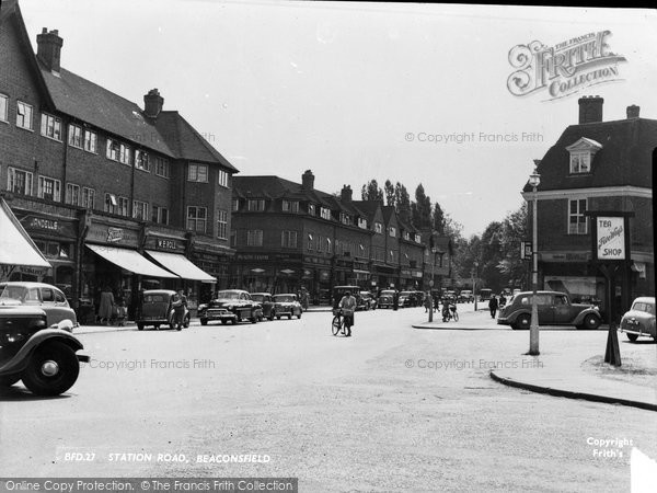 Beaconsfield, Station Road c.1955