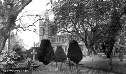 Beaconsfield, The Church c.1955