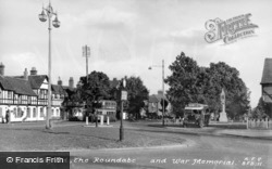 The Roundabout And War Memorial c.1955, Beaconsfield