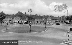 The Roundabout c.1955, Beaconsfield