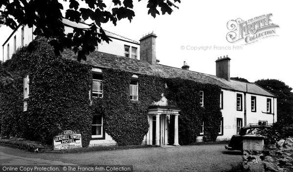 Photo of Beadnell, Beadnell Towers Hotel c1955, ref. B550040