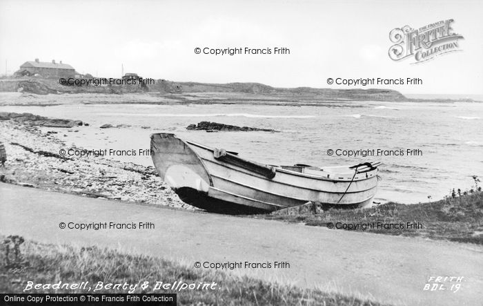 Photo of Beadnell, Benty And Dellpoint c.1955
