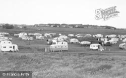 Beadnell, Caravan Camp c.1955