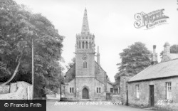 Beadnell, St Ebba's Church c.1955