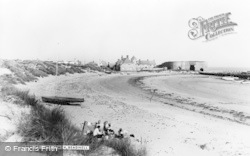 Beadnell, The Beach c.1960