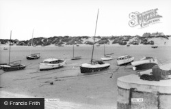 Beadnell, The Harbour And Shore c.1955