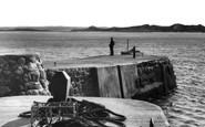 Beadnell, The Harbour And Shore c.1960