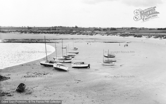 Photo of Beadnell, The Harbour And Shore c.1960