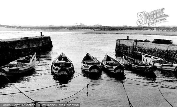 Photo of Beadnell, the Harbour c1955, ref. B550008