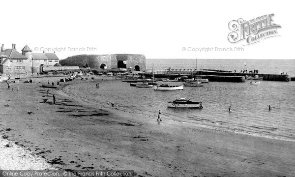 Photo of Beadnell, the Harbour c1955, ref. B550036