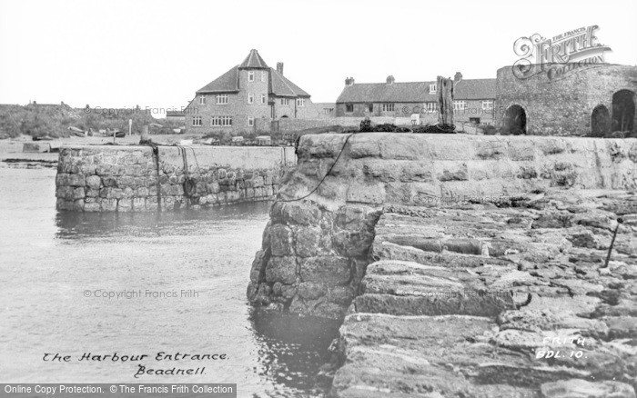 Photo of Beadnell, The Harbour Entrance c.1955