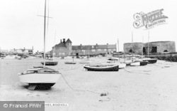 Beadnell, The Sands c.1960