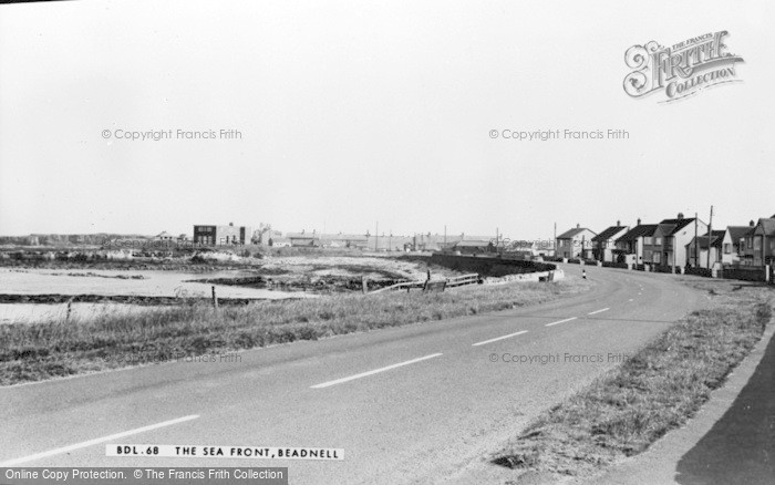 Photo of Beadnell, The Seafront c.1960