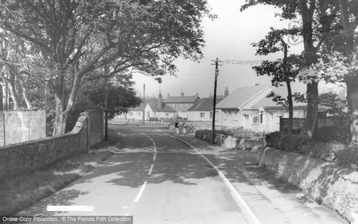 Photo of Beadnell, The Village c.1960