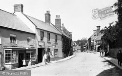 Beaminster, Hogshill Street 1902