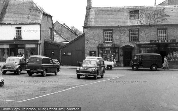 Beaminster, Shop Front c.1955