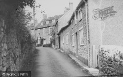 Beaminster, Shorts Lane c.1965