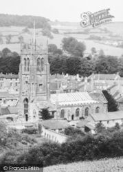 Beaminster, St Mary's Church c.1960