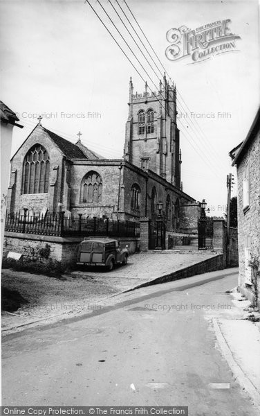 Beaminster, St Mary's Church c.1965