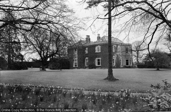 Beaminster, The Manor House c.1950