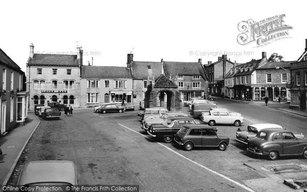 Beaminster, The Square 1967