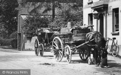 Horse And Cart 1909, Beare Green