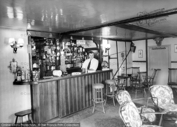 Beare Green, The Dukes Head, The Saloon Bar c.1955
