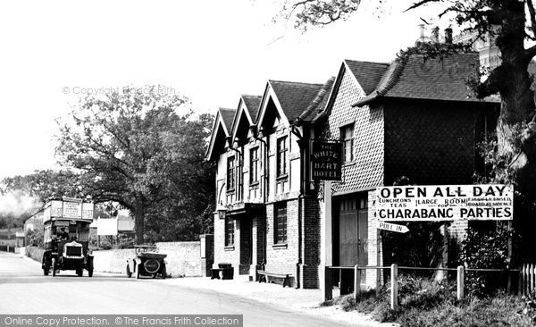 Photo of Beare Green, the White Hart 1924