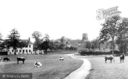 Bearsted, The Green 1898
