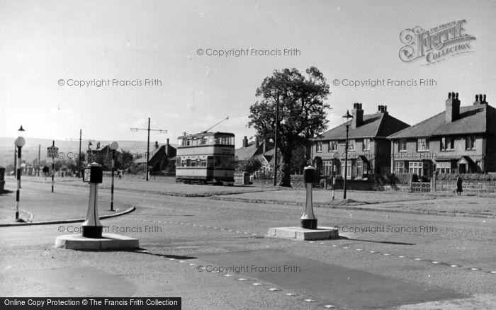 Photo of Beauchief, Abbey Lane c.1950