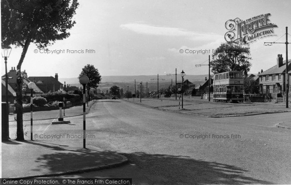 Photo of Beauchief, Abbey Lane c.1950