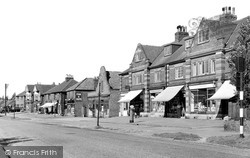 Beauchief, Hutcliffe Wood Road c.1950