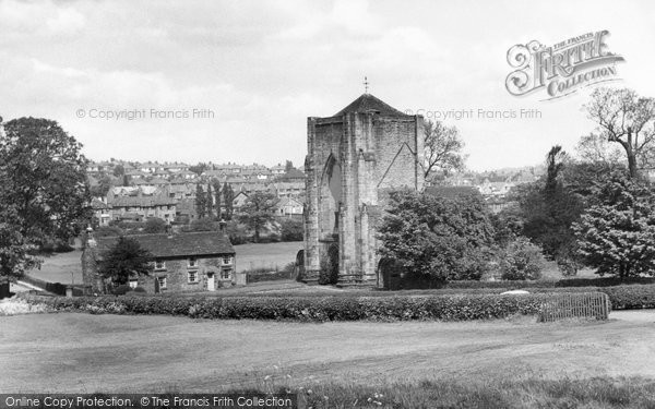 Photo of Beauchief, The Abbey c.1950