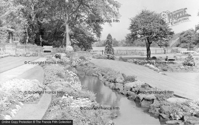 Photo of Beauchief, The Gardens c.1950